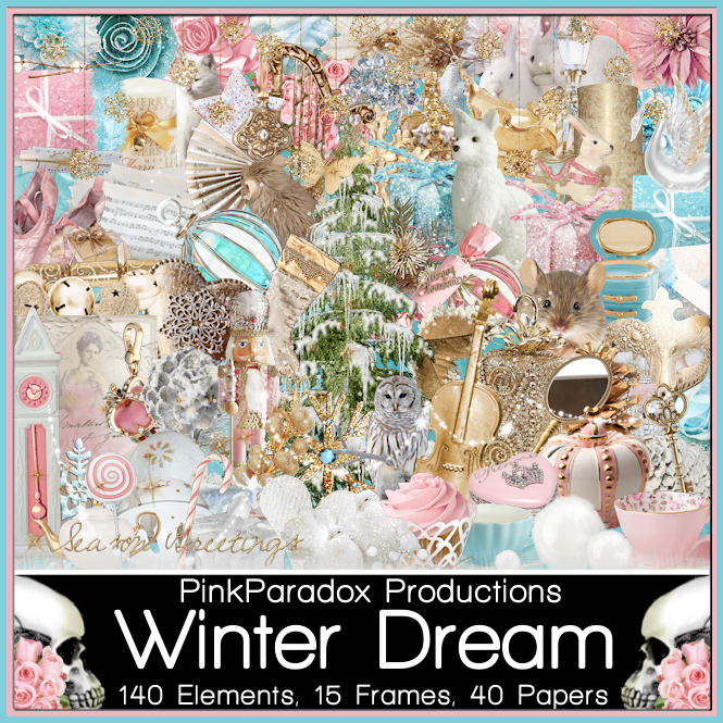 PinkParadox Productions Creative Team: Winter Dream Kit