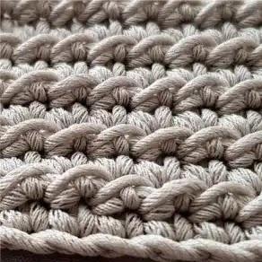 Punto Espiga a Crochet