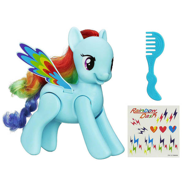 My Little Pony Flip 'n' Whirl Rainbow Dash Figures