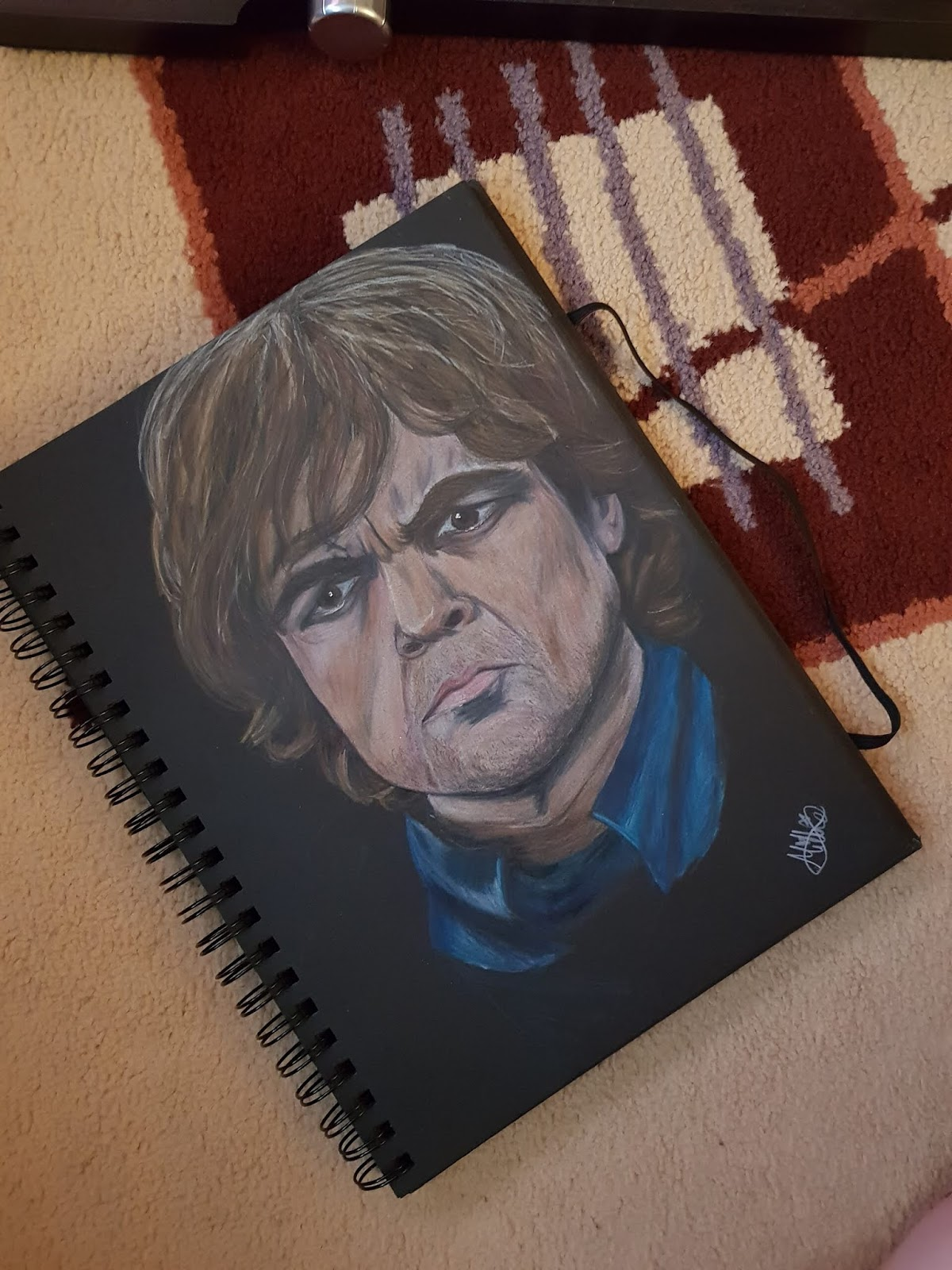Tyrion Coloring pencils art
