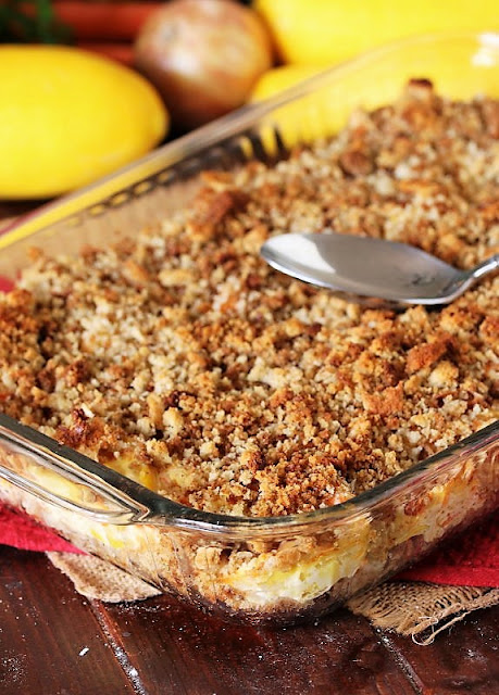 Favorite Summer Squash Casserole Baked with Stuffing Mix Image