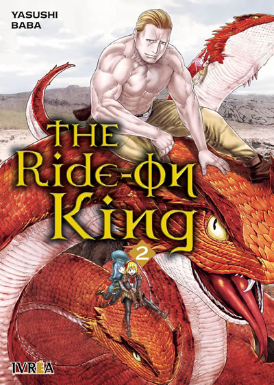 Reseña de The Ride-on King vol. 2 de Yasushi Baba - Ivréa.