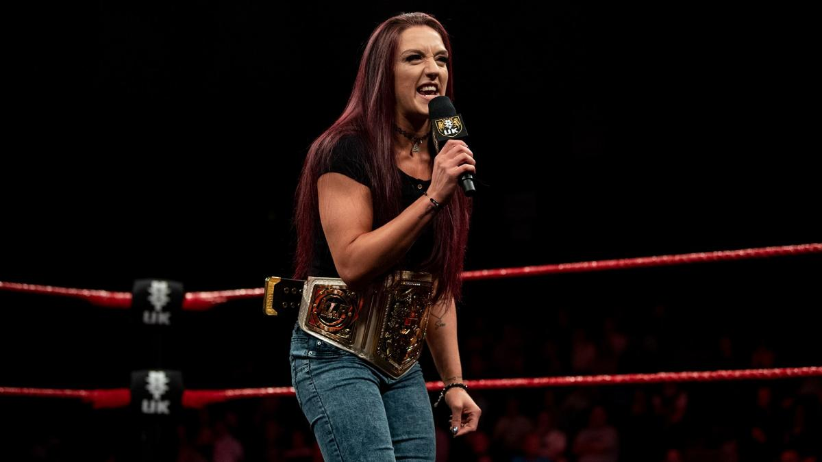 Kay Lee Ray atinge 600 dias como NXT UK Women's Champion