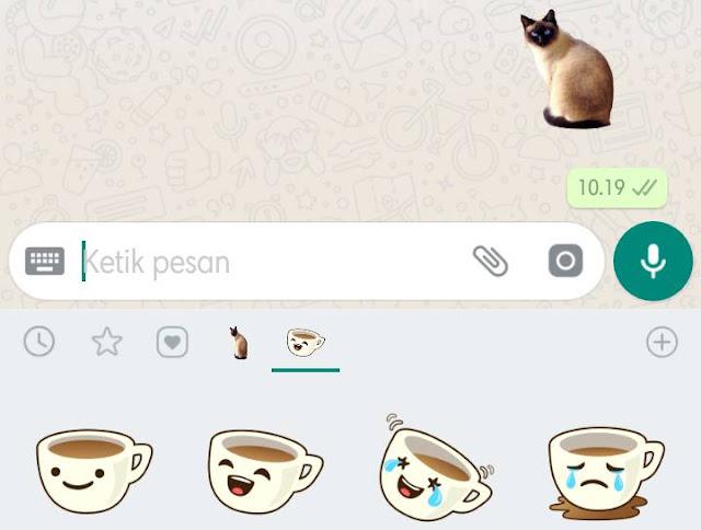 Cara Membuat Stiker Di Whatsapp Sesuai Dengan Keinginan Sendiri Klik Refresh