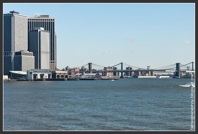 Manhattan desde Ferry Staten Island