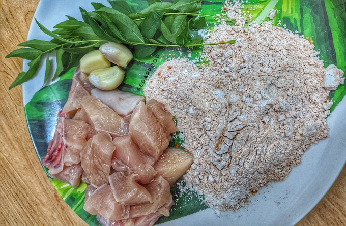 resepi kari ayam guna susu segar enak  mudah resepi pemakanan Resepi Ayam Azie Kitchen Enak dan Mudah