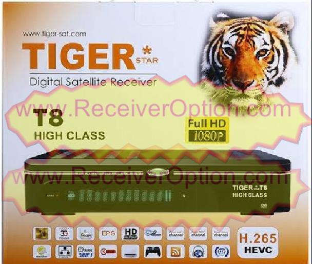 TIGER T8 HIGH CLASS HD RECEIVER TEN SPORTS OK NEW SOFTWARE