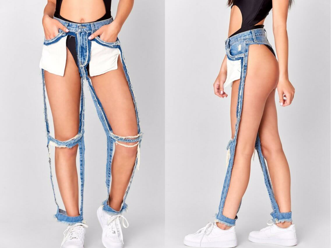Ripped Jeans That Cost $166 Per Pair Are Now The Big Fad