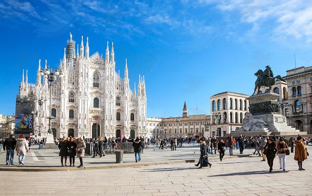 Pontos turísticos em Milão