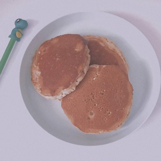 Resepi Pancake Mudah dan Lembut Tanpa Butter
