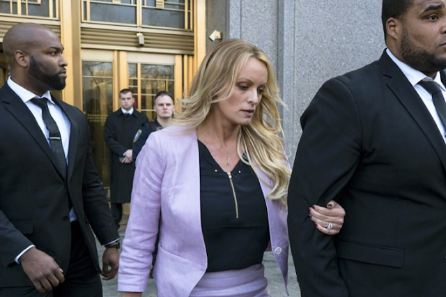 Stormy Daniels suit: My old lawyer was a 'puppet' for Trump, Cohen