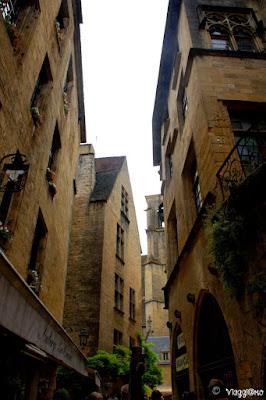Gli edifici medievali del centro di Sarlat la Caneda