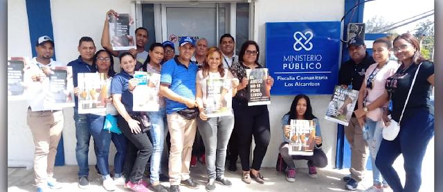 Ministerio Público realiza jornada de sensibilización sobre violencia de género en Los Alcarrizos