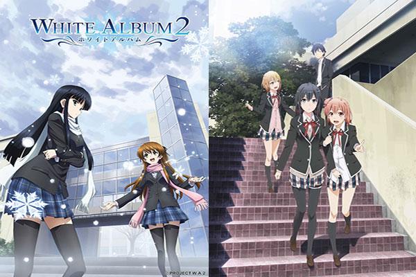 Anime yang mirip Oregairu - White album 2