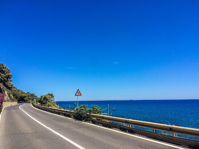 cycling French coast to Italian riviera carbon road bike rental