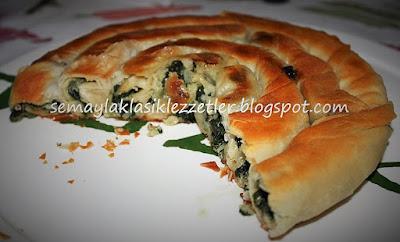 Burmalı Pazı Böreği