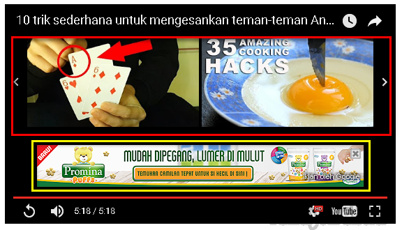 Cara Lain Menampilkan Video Youtube