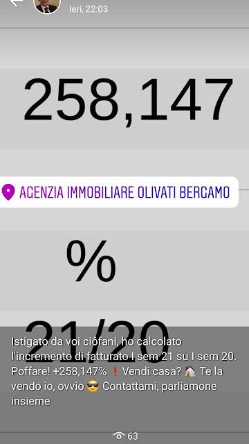 Agenzia immobiliare aperta agosto Bergamo Olivati