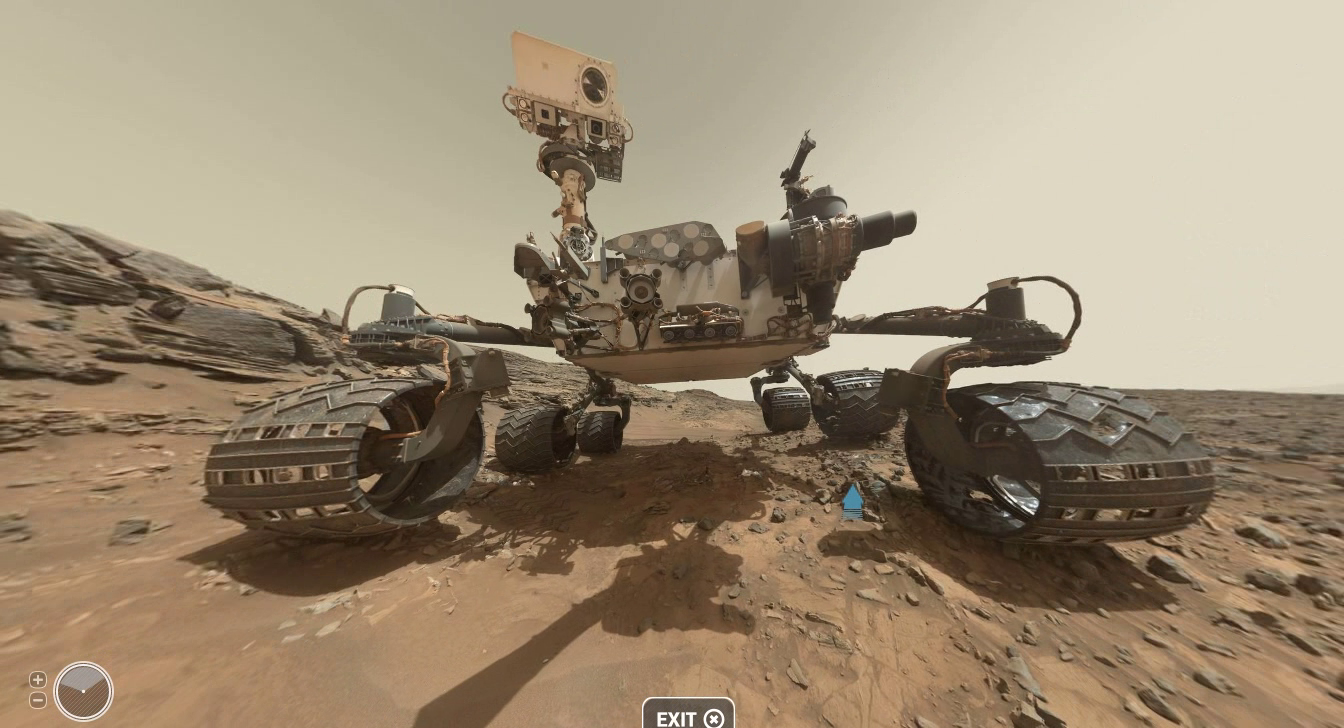 UFO WORLD: Mars in 360 Degrees - Curiosity Rover's Self ...