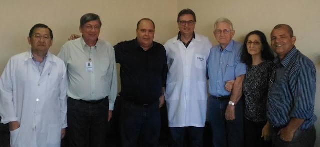 Maurílio Viana visita Hospital Regional  João de Freitas em Arapongas