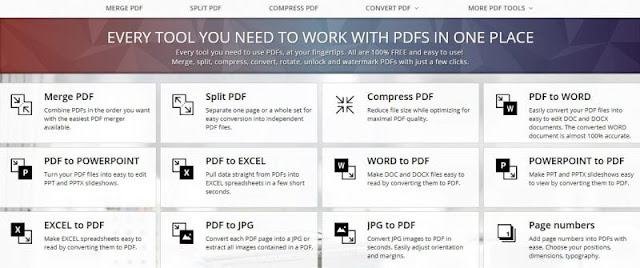 Inilah Daftar Situs Online Document Converter PDF Terbaik