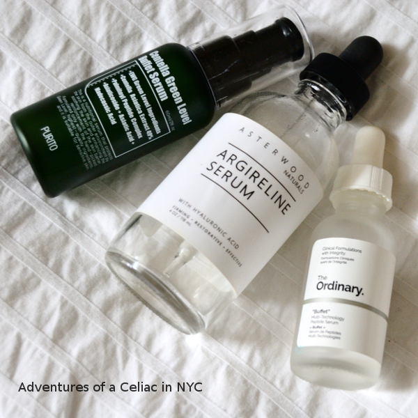 Review And Comparison Buffet Serums From Purito And The Ordinary Plus A Couple More Peptide Based Serums