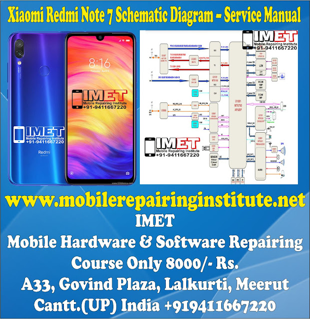 Xiaomi Redmi Note 7 Schematic Diagram – Service Manual Download