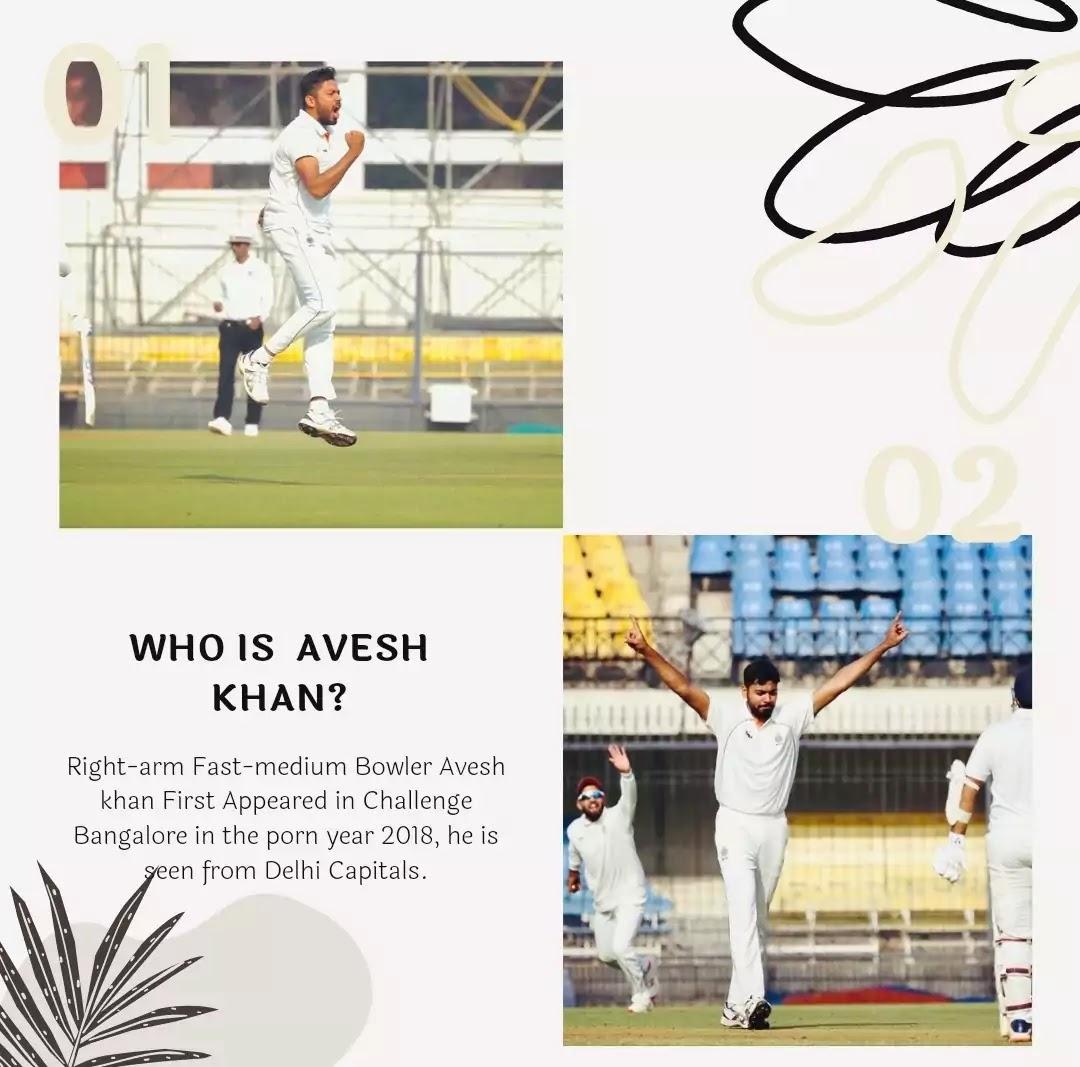 Avesh Khan Career