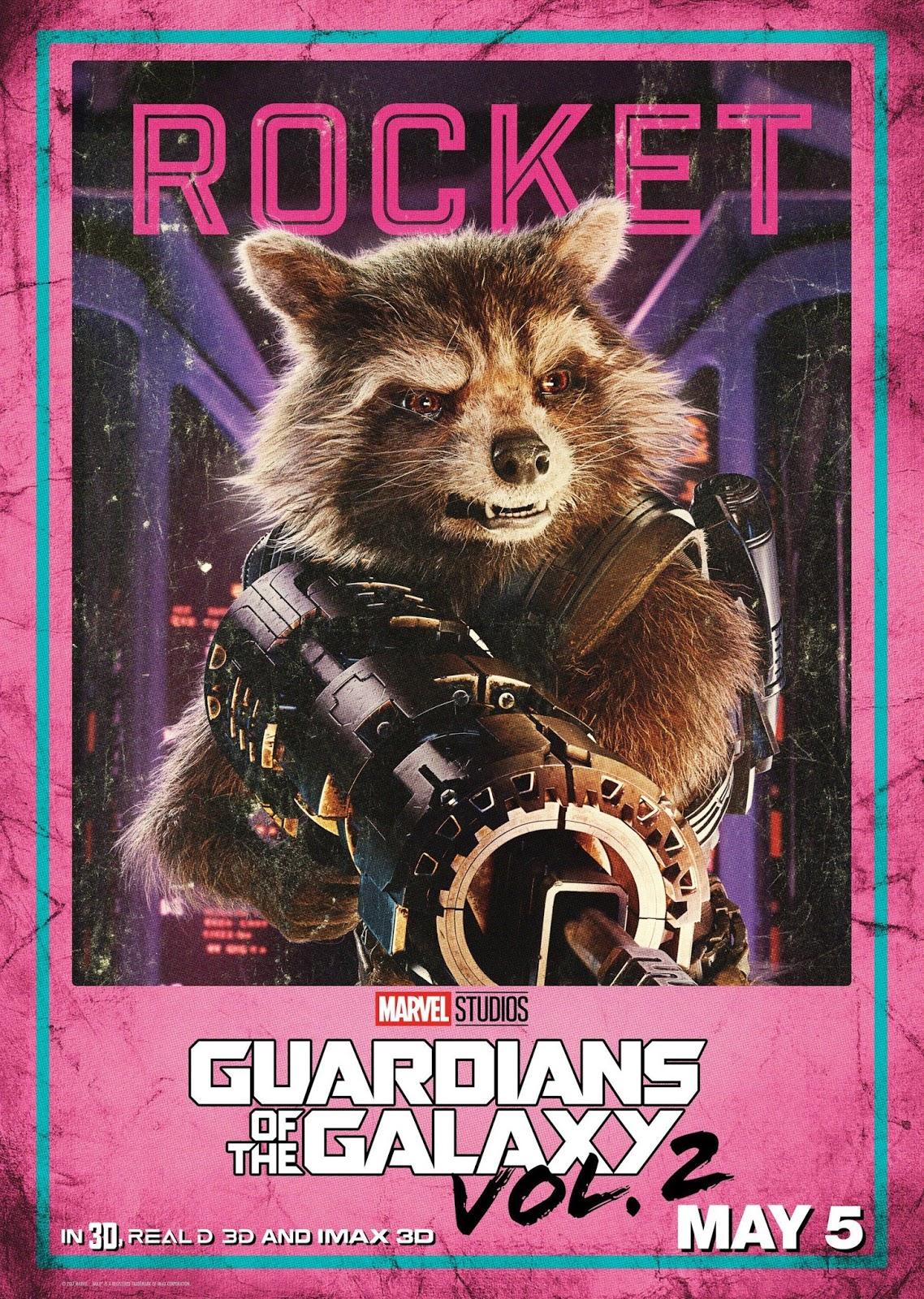 Стражи Галактики Часть 2, Guardians of the Galaxy Vol 2, Реактивный Енот, енот Ракета, Rocket