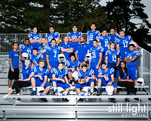 still light studios best sports school senior portrait photography bay area football