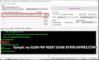symphony g100 cm2 boot file without password