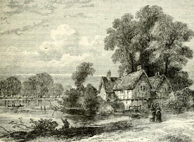 The Cake House, Hyde Park  from Old and New London by E Walford (1878)