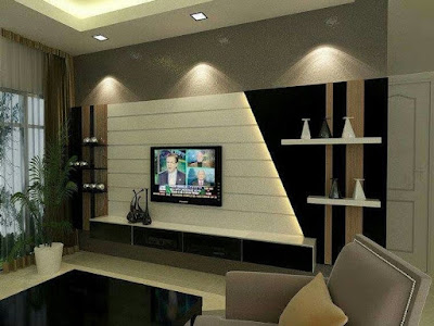 tv wall design