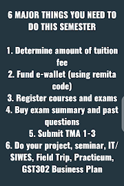 6 Major Things You Need To Do This Semester by DJ Phoenix