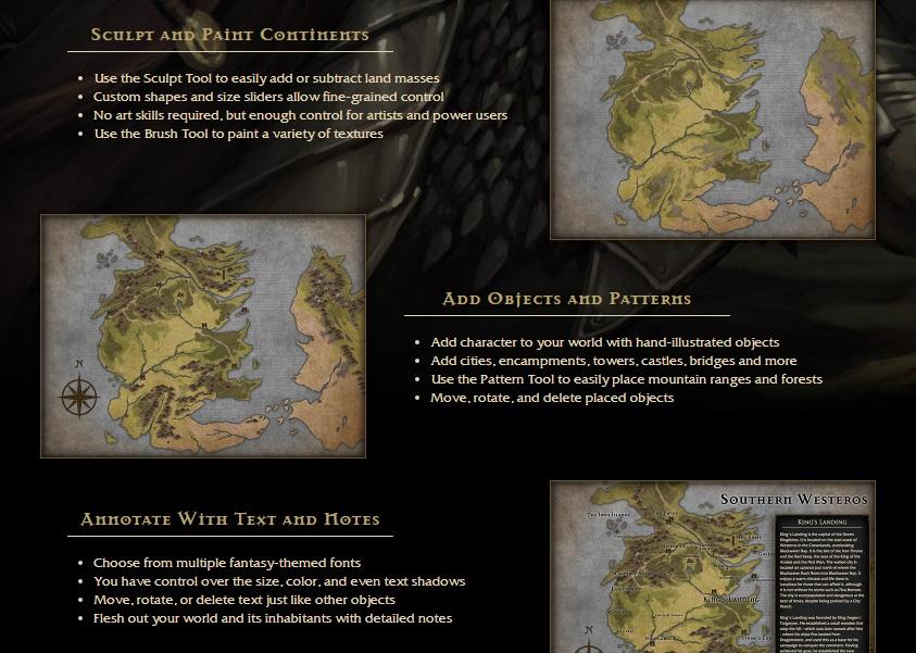 Shadowed Destiny: Map Making: Inkarnate