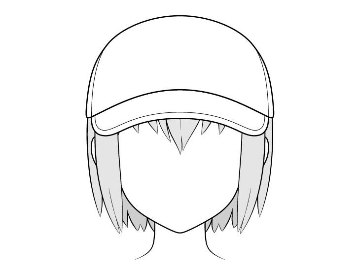 Gambar topi baseball anime