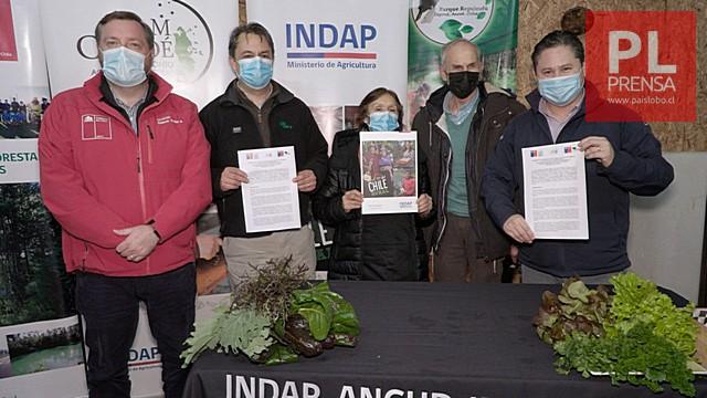 INDAP y CONAF firman convenio