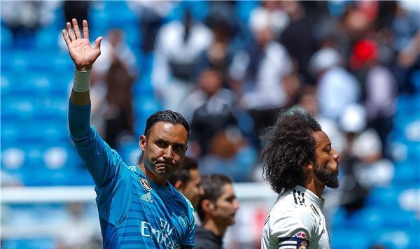 نافاس يودع لاعبي ريال مدريد