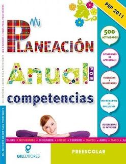 Mi Planeacion Anual por Competencias para Preescolar