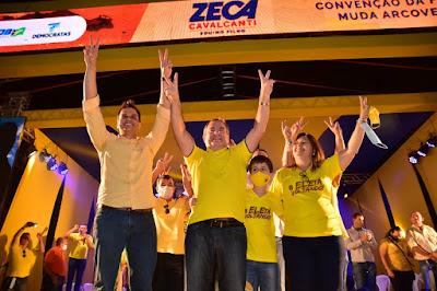 Arcoverde: Zeca lança-se com apoio de oito partidos e lideranças regionais