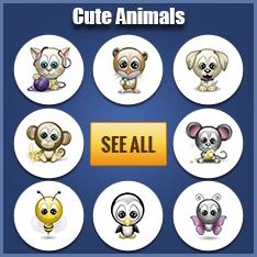Cute Animals Emoticons