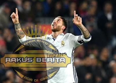 Sergio Ramos Mencetak Gol Di Menit Terakhir Di El Clasico