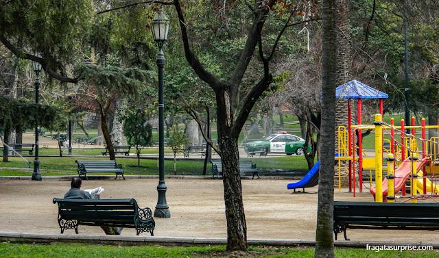 Parque Florestal, Santiago do Chile