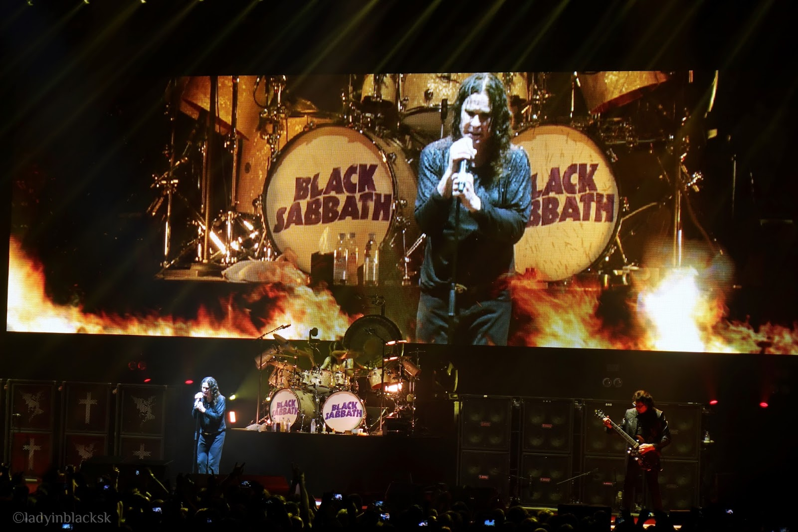 Black Sabbath, The End Tour in Prague
