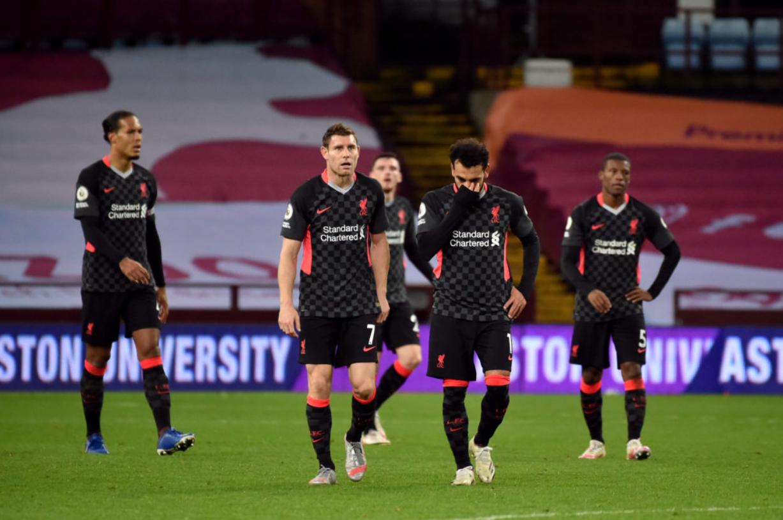 Liverpool left Villa Park devastated after their shock 7-2 defeat