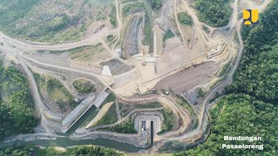Bendungan Paselloreng Ditarget Aliri 8.510 Hektare Sawah