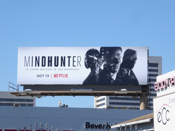 Mindhunter series launch billboard