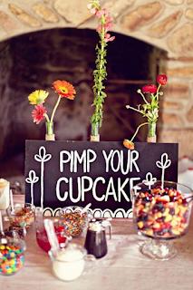 bar à cupcakes mariage d'hiver  blog mariage www.unjourmonprinceviendra26.com