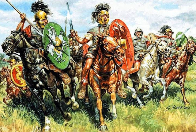 early roman cavalry