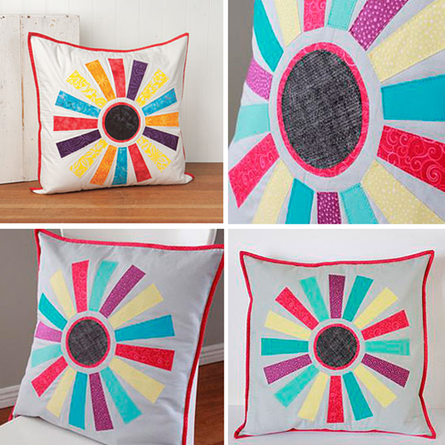 Starburst Pillow - Free Pattern